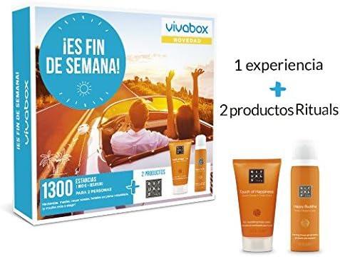 VIVABOX Caja Regalo -¡ES Fin DE Semana!- 280 estancias. Incluye un ...