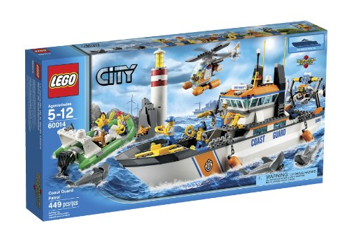 LEGO City Coast Guard Patrol 60014 (Discontinued by manufacturer) ()