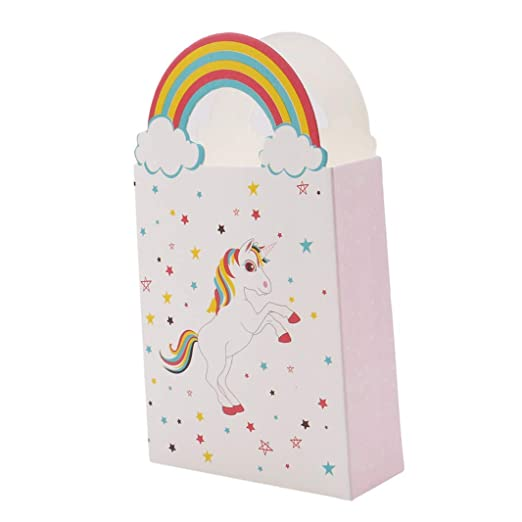 10 bolsas de papel de unicornio de alta calidad para regalar ...