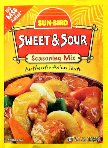 Sunbird Mix Ssnng Sweet N Sour (Sweet And Sour Powder Mix)