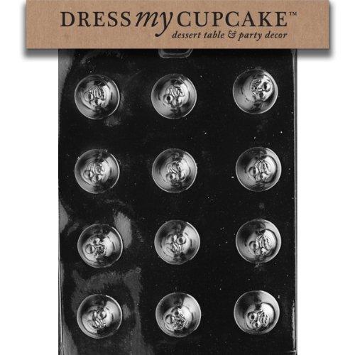 Dress My Cupcake Chocolate Candy Mold, Cherry Bon-Bon