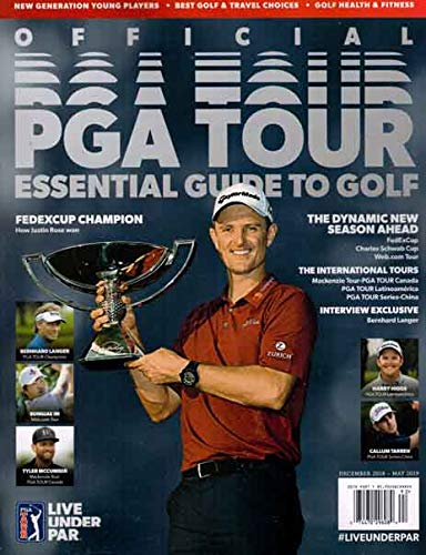 Official PGA Tour Essential Guide to Golf Issue 92