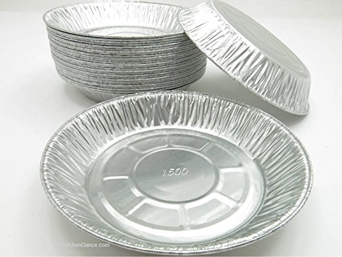 CLOSE OUT DEAL! Agiant 7 inch Deep Disposable Aluminum Pie pans- Case pack of 1000