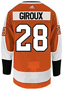 Philadelphia Flyers Claude Giroux adidas Home Authentic Jersey