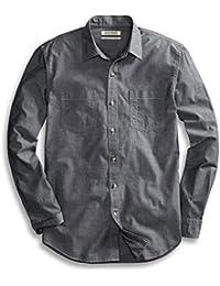 Goodthreads Men's Regular-Fit Long-Sleeve Chambray Shirt