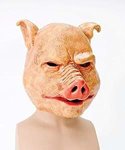 Horror Pig Mask Latex (disfraz)