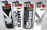 Bic Playboy Series Full Sized Lighters Lot of 4