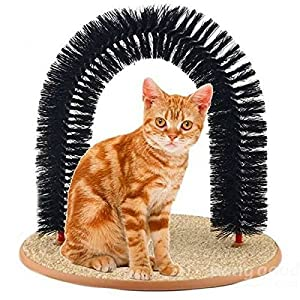 Pets Empire Cat Happy Arch Self-Groomer and Massager