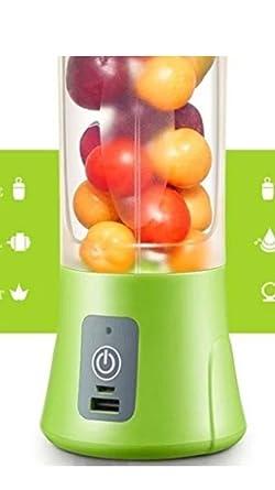 Tiru traders Portable USB Electric Juicer, Blender Drink Bottle,380 ml Juicer Cup with Sipper