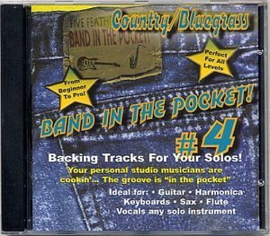Price comparison product image Band In The Pocket 4 - Country / Bluegrass (US Import) by Marvin Taylor