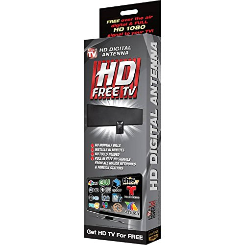 HD Free TV Digital Antenna - FREE HD Signal From All Major TV Networks