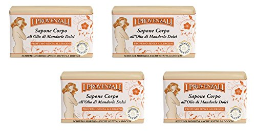 i-provenzali-sapone-corpo-with-sweet-almond-oil-88-ounce-250g-packages-pack-of-4-italian-import-