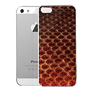 Light weight with strong PC plastic case for Iphone 5/5s Patterns Animal Prints Scales