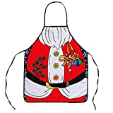 2016 New Style Cartoon Sex Lady Cooking Apron Creative Character Series Christmas Apron (Cartoon)