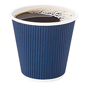 Navy Coffee Cups