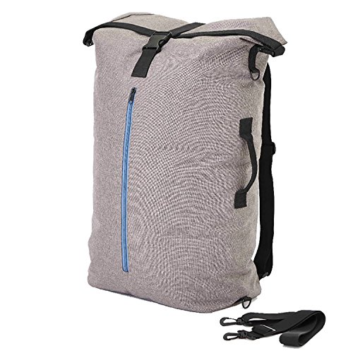 Home Intuition Laundry Backpack with Shoulder Straps and Second Pocket for Storage by Home Intuition