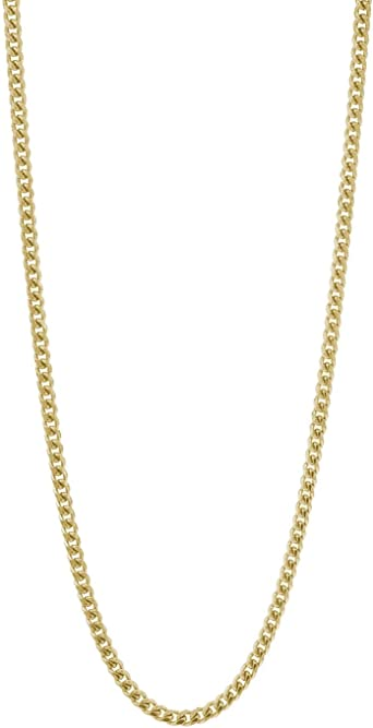 3mm4mm hollow Cuban link bracelet7inch 10k solid yellow gold