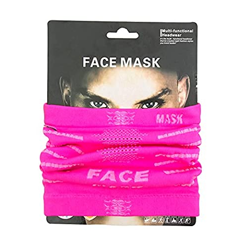 Baiyu Cycling Face Mask Breathable Anti UV Facemask Windproof Neck Warmer Scarf Headwear Half Face Cover Magic Headband Moisture Wicking Veil for Motorcycle Bike Cycling Outdoor sport