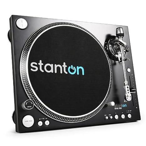Stanton DJ STR8.150 Plato Tocadiscos Alta torsión: Amazon.es ...