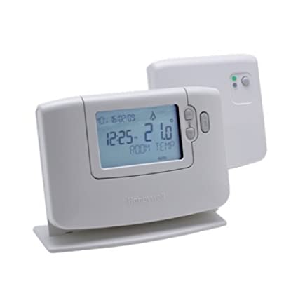 Honeywell CM921 - Termostato programable para habitación (24 horas), color blanco