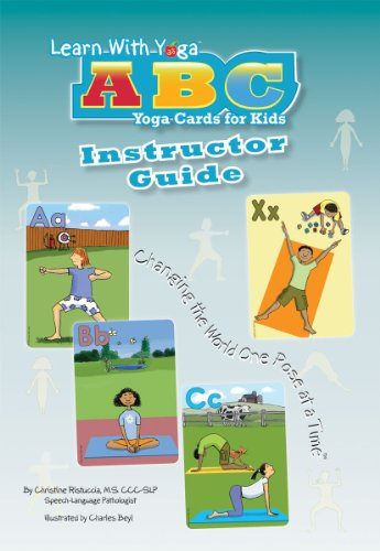 Learn With Yoga ABC Cards For Kids Instructor Guide
