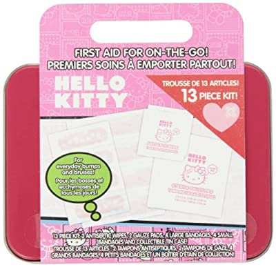 Health Science Labs Hello Kitty 13 Piece First Aid Kit from Cosrich Group/Health Science Labs