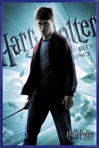 Harry Potter Poster and Frame (Plastic) - And The Half-Blood Prince, Harry Solo (36 x 24 inches)