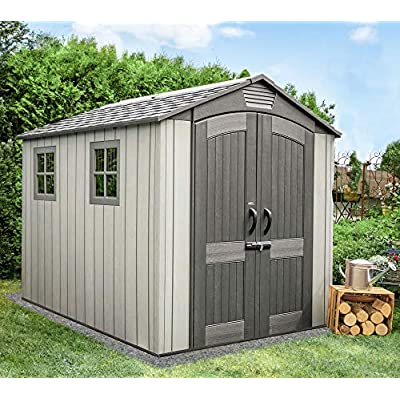 Lifetime Plastic Shed 7×9 Rough Cut Review