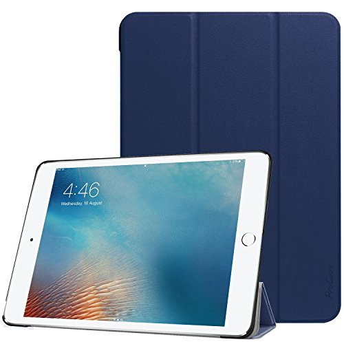 (ProCase iPad 9.7 Case, Slim Stand Hard Shell Case Smart Cover for iPad 9.7 2018 iPad 6th Generation / 2017 iPad 5th Generation -Navy)