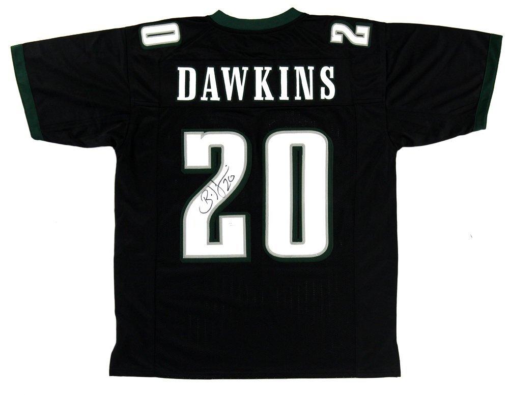Brian Dawkins Autographed/Signed Philadelphia Custom Black Jersey