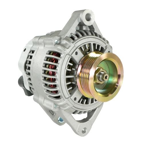 (DB Electrical AND0122 New Alternator For 2.4L 2.4 3.0L 3.0 3.3L 3.3 3.8L 3.8 Plymouth Voyager 98 99 00 1998 1999 2000, Chrysler Town & Counry Van, Dodge Caravan, Chrysler Voyager 00 2000 4727329A)