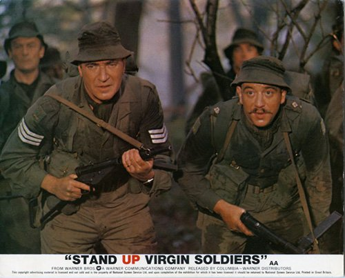 soldiers virgin Stand up