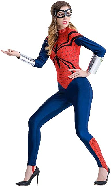 woman stars hero Costume Spiderwoman Style Ladies Superhero Skirts