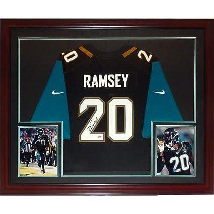purchase cheap f70b8 c5c12 Jalen Ramsey Autographed Signed Auto Jacksonville Jaguars ...