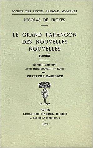 Livre gratuits Le Grand Parangon des nouvelles nouvelles pdf