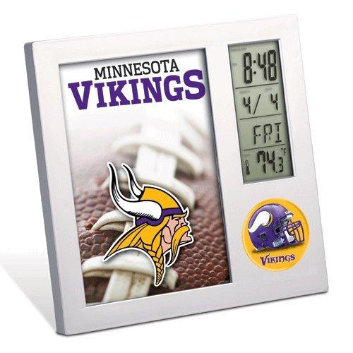 Minnesota Vikings Clock - Team Desk