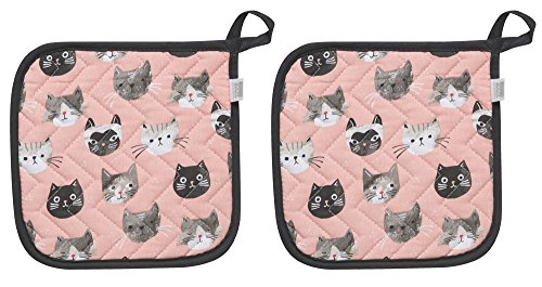 Now Designs Basic Potholder Cats