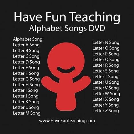 Amazon Alphabet DVD by Have Fun Teaching Movies & TV