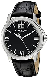 Raymond Weil Men's 5476-ST-00207 Analog Display Quartz Black Watch