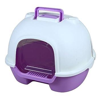 Amazon.com : BOOB Pet Toilet Cat Litter Box Large Toilet ...
