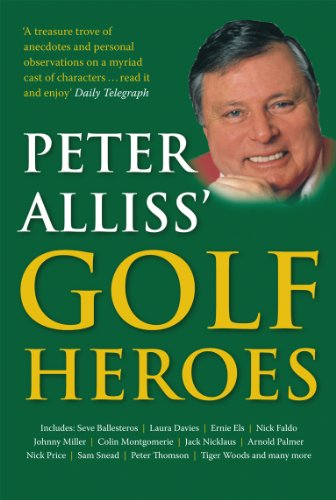 Used, Peter Alliss' Golf Heroes for sale  Delivered anywhere in USA