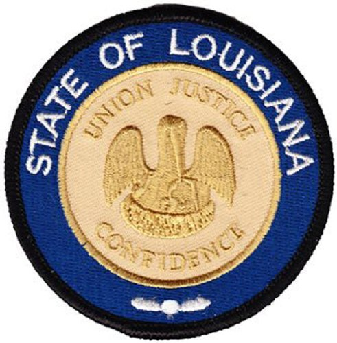 - Louisiana - 3 in Round State Seal Patch