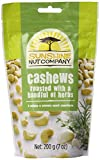 Sunshine Nut Company Cashews Roasted with a Handful of Herbs, 7 Ounce (Pack of 12)