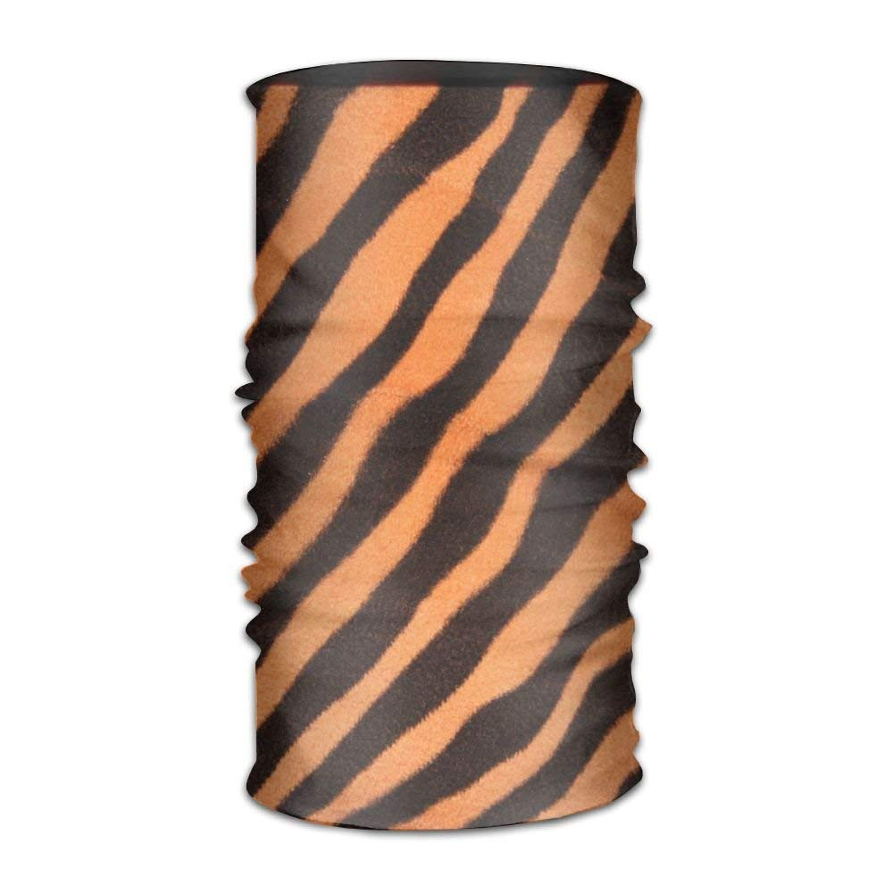 Tiger Clear Texture Pattern Unisex Fashion Quick-Drying Microfiber Headdress Outdoor Magic Scarf Neck Neck Scarf Hooded Scarf Super Soft Handle