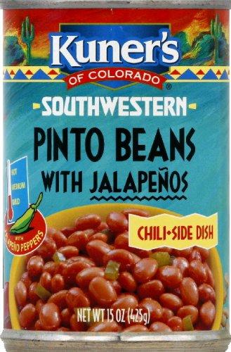Kuner's Southwestern Jalapeno Beans Chili, 15-ounces (Pack of12) ()