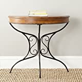 Safavieh American Homes Collection Bertha Dark Brown Console Table