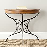 Safavieh American Homes Collection Bertha Dark Brown Console Table