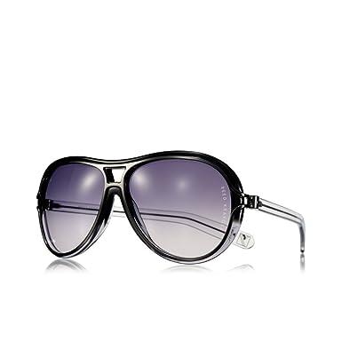 designer oversized sunglasses zjyg  Reed Krakoff Designer Oversized Sunglasses with Case, Cloth & Card  Black/Pewter/