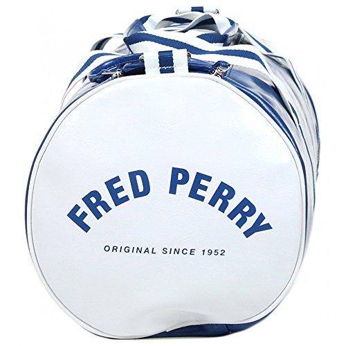 Fred Perry - Bolso al hombro de pvc para hombre azul Regal