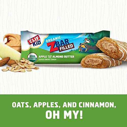 CLIF KID ZBAR FILLED - Organic Energy Bar - Apple Almond
